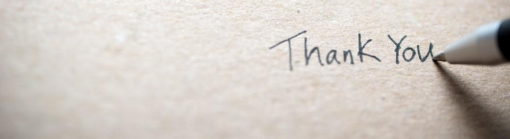 Ευχαριστήρια επιστολή πελάτη